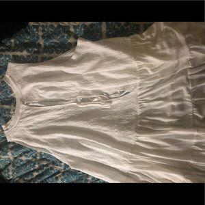 Cute white/cream top
